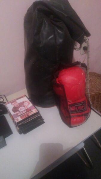 Bolsa y guantes (nuevos)