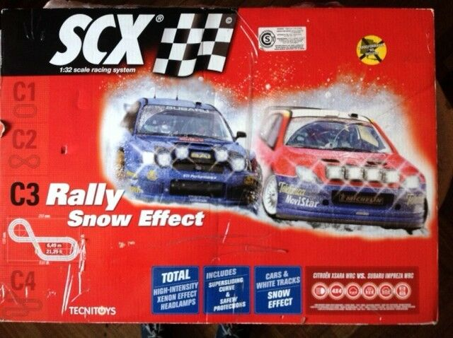 Pista Scalextric C3 Rally Snow Effect