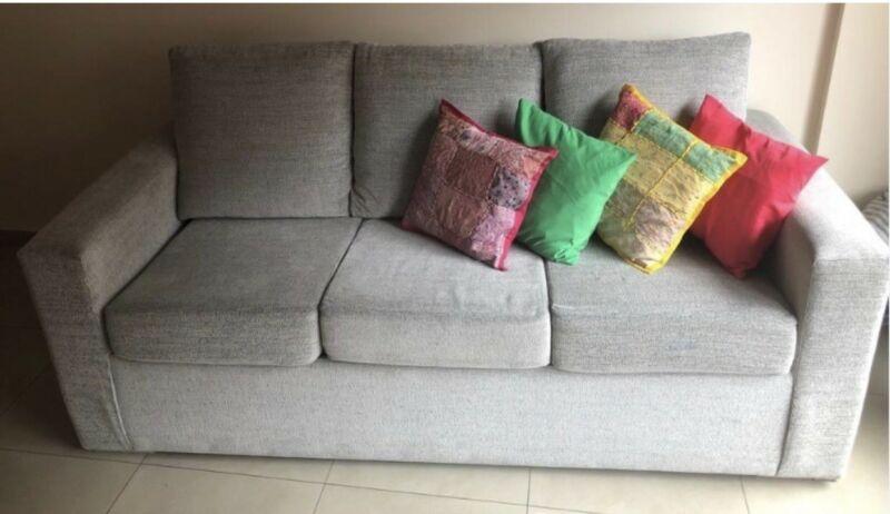 Sofa Cama 3 Cuerpos + Cama Doble (colchon incluido) -