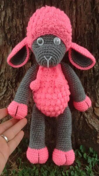 Oveja Amigurumi Grande 36 Cms Tejido Crochet Amigurumis - $ 1.400 ...   600x338
