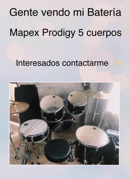 Batería Mapex Prodigy 5 cuerpos