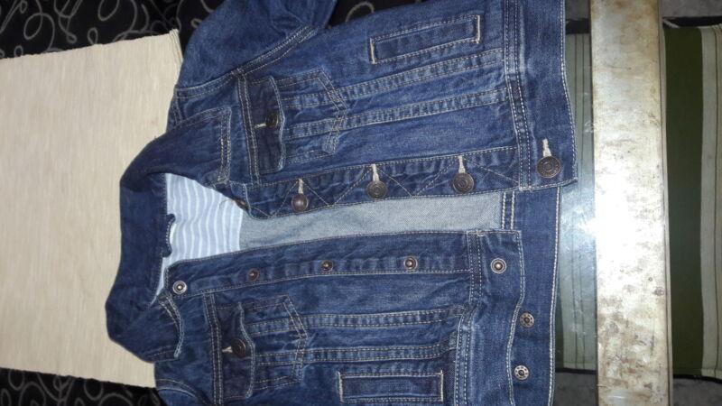 Campera de jeans unisex