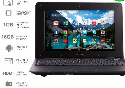 Netbooks (Android)10 pulgadas 16gb