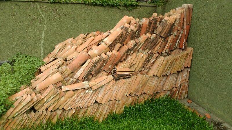 Vendo lote de tejas coloniales usadas
