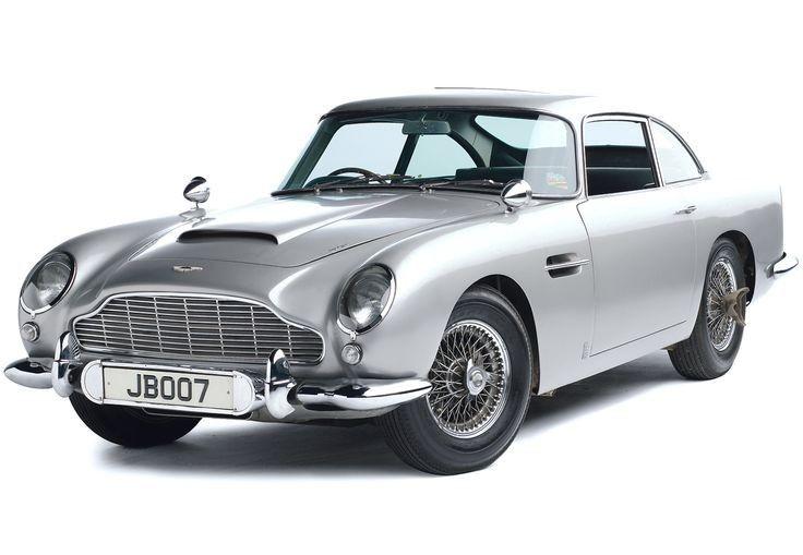 Auto James Bond N° 1 Aston Martin Db5 Colección La Nación
