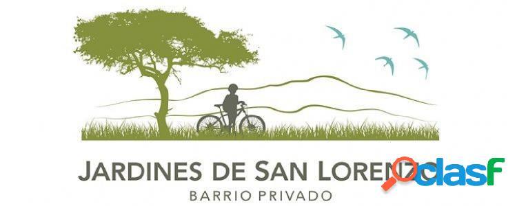 Jardines de San Lorenzo. Venta de terrenos, distintas