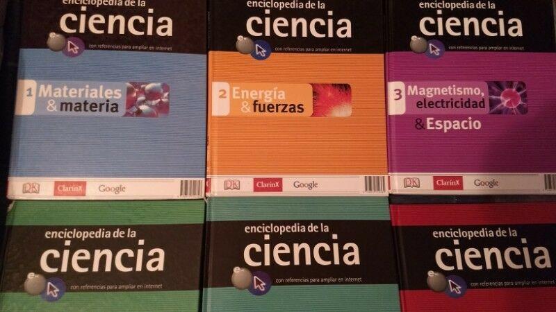 La Enciclopedia De La Ciencia Clarin Los 6 Libros