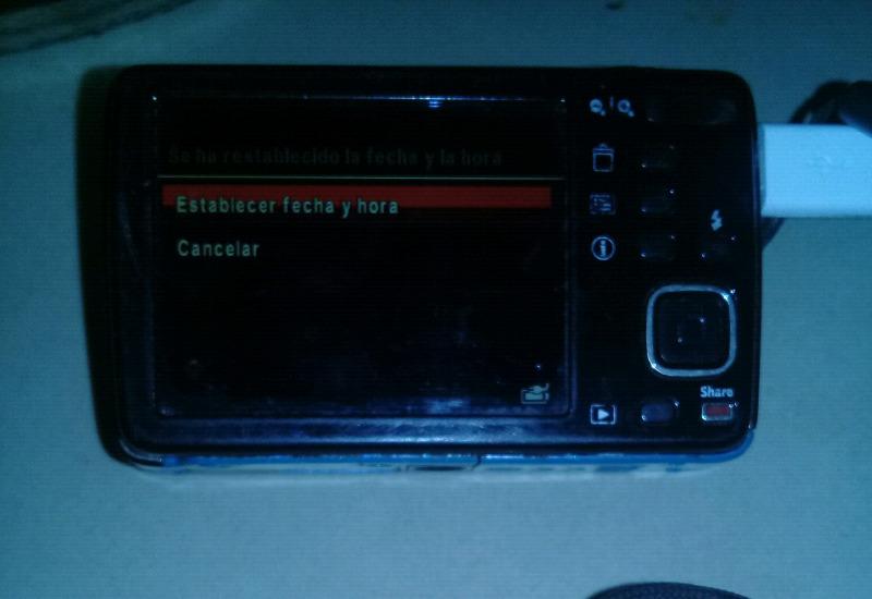 Vendo camara digital kodak easyshare mini