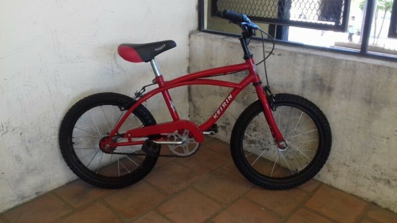 Bicicleta Keirin Rodado 16 Excelente Estado Como Nueva!