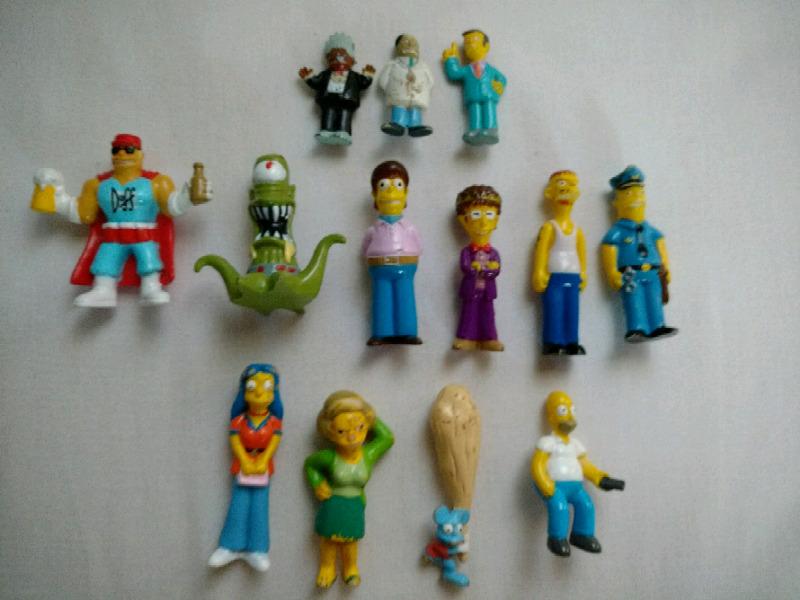 Juguetes de colección Los Simpsons