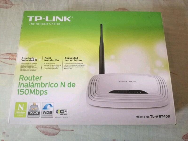 Router Inalámbrico TP Link