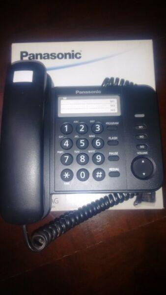 TELEFONO FIJO PANASONIC MODELO KX-TS520 - IMPECABLE-POCO USO