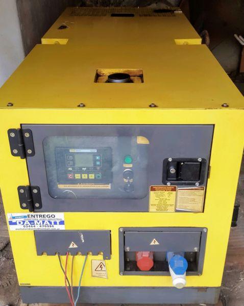 Generador eléctrico trifásico diesel