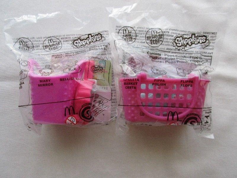 Lote de juguetes Shopkins de Mac Donalds !!!, en bolsa