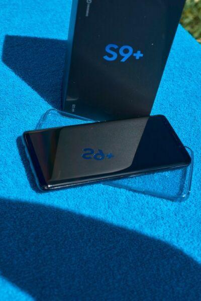 Samsung Galaxy S9+ Plus Completo En Caja UNA SEMANA DE USO