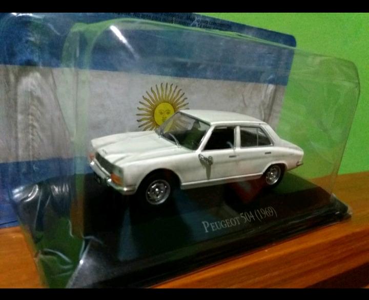 Autitos de coleccion Peugeot 504 Autos Inolvidables Salvat