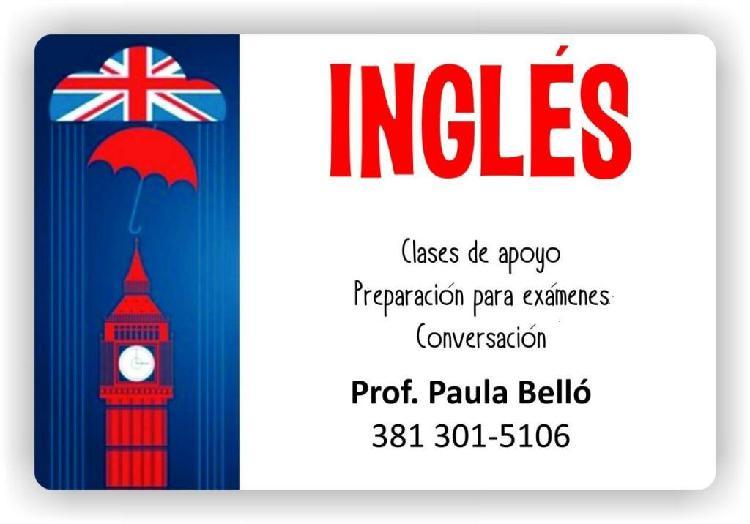 Clases de Ingles todos los niveles