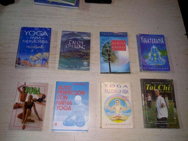 Pack de 8 libros usados de yoga