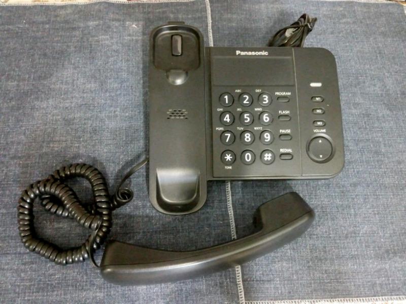 Teléfono fijo con cable Panasonic