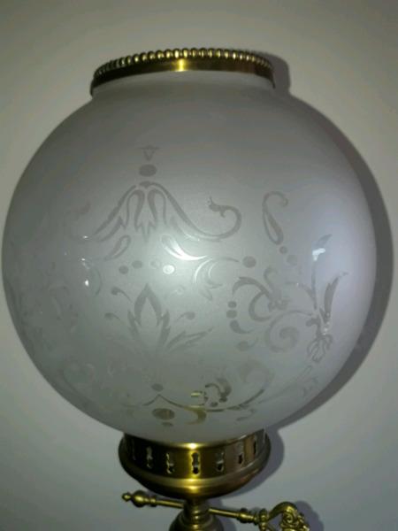 Vendo dos lamparas de bronce