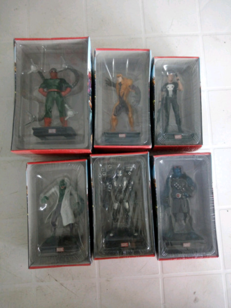 Vendo figuras de marvel en perfecto estado