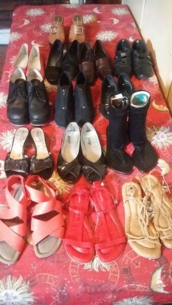 Vendo ropa y calzado usado de mujer en excelente estado