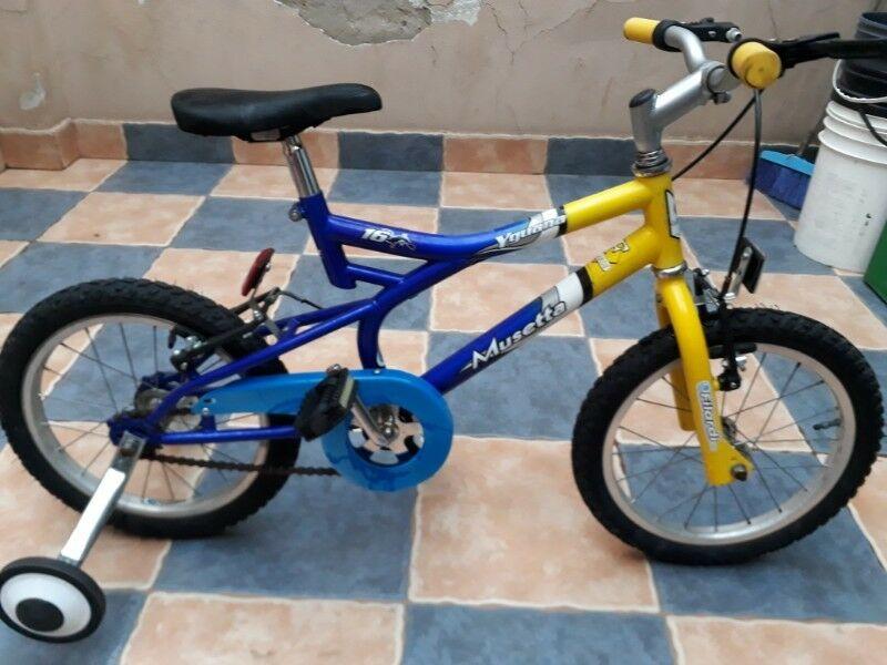 Bicicleta Musetta Iguana Para Varon Rodado 16 Cross