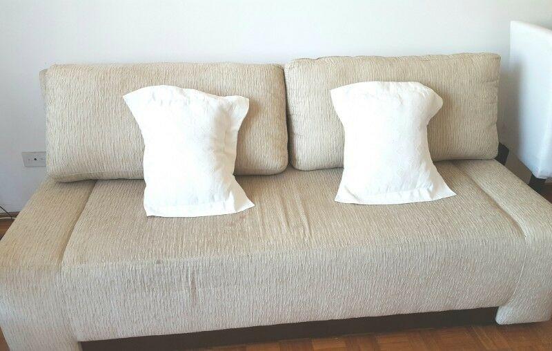 Sofá cama divanlito con guarda frazadas