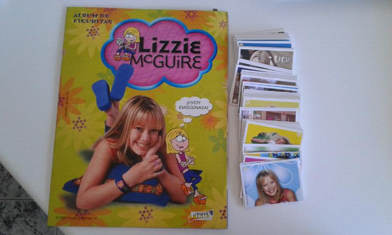 Vendo álbum de figuritas completo a pegar de lizzie mcguire