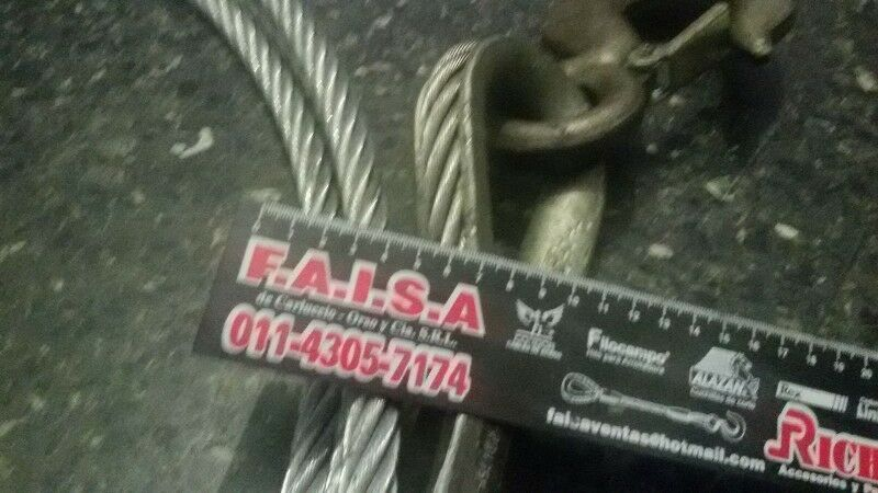 Eslinga cable de acero 3/4 x 15 Mts.