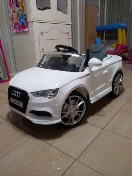 Audi A3 a bateria para niños