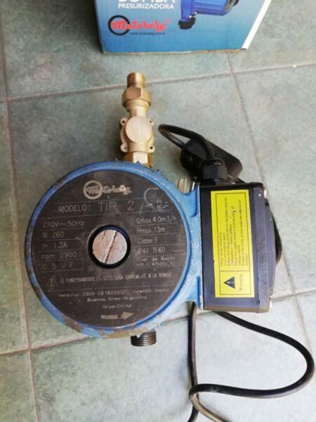 Bomba de presión Motorarg Tip 2