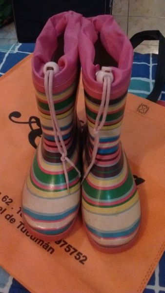 Botas botas botas de goma para la lluvia número 34