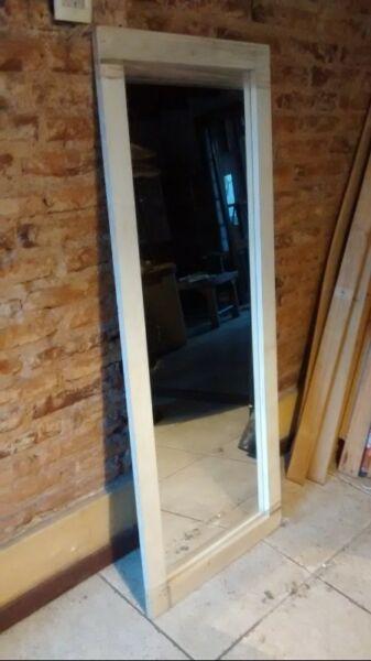 Espejo rectangular 140x55