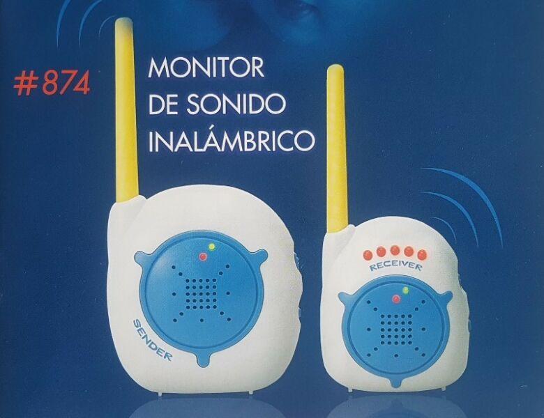 Monitor para bebes Baby Call Luz y Sonido