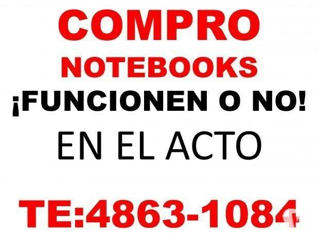NOTEBOOKS Y NETBOOKS FUNCIONEN O NO TE: