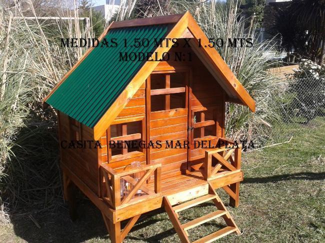 casita de madera para niños en mar del plata fabrica