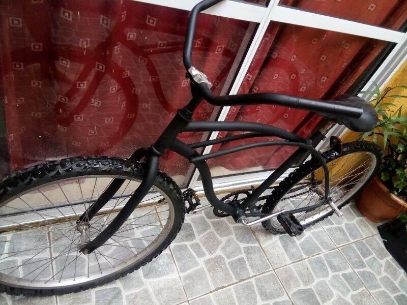 vendo bicicleta playera 26 en muy buen estado,casi sin uso