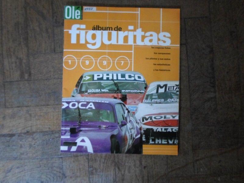 ALBUM DE FIGURITAS DEL TURISMO CARRETERA OLE