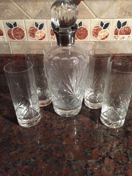 Botellon de cristal