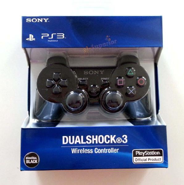 Joystick Ps3 Sony Dualshock Original En Caja Obelisco Play 3