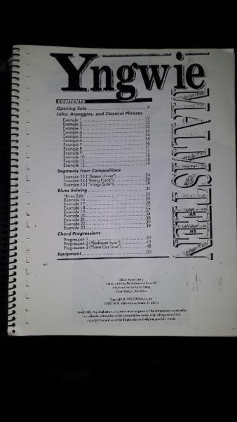 Libros de música y discos de guitarristas (notas y