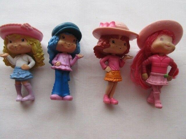 Lote de 4 muñecas Frutillitas, Mac Donald's,  y