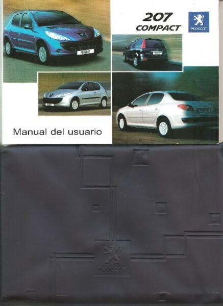 Manual de PEUGEOT 207 - de usuario original en su estuche