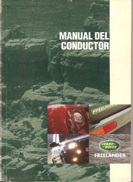 manual land rover freelander - de usuario- en formato