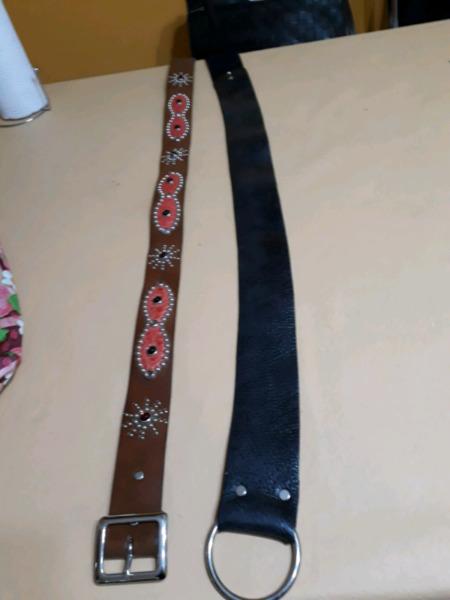 Cinturones de cuero no imitacion  c131e2701d91
