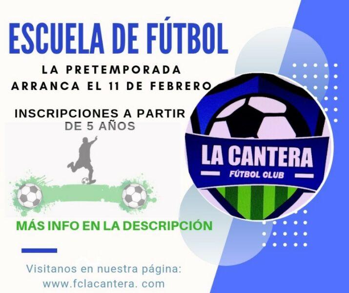 Escuela de futbol inscripciones abiertas