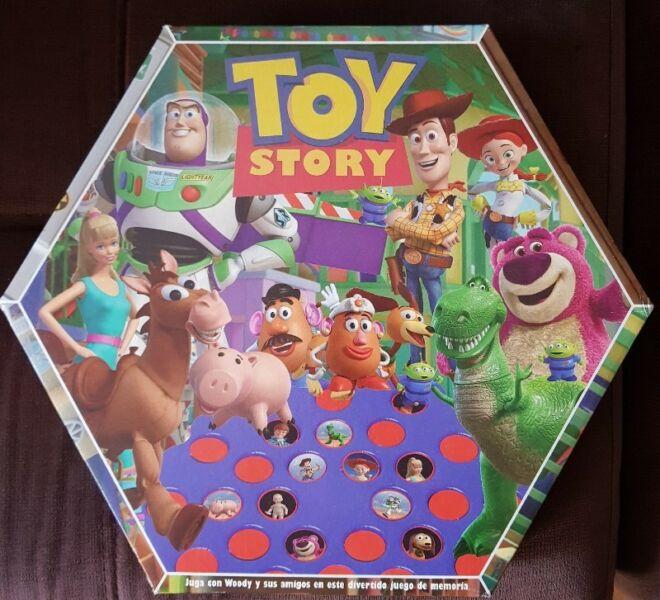 Juego de Mesa Infantil de Memoria Flip and Match Toy Story