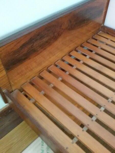 Juego de dormitorio 2 plazas madera