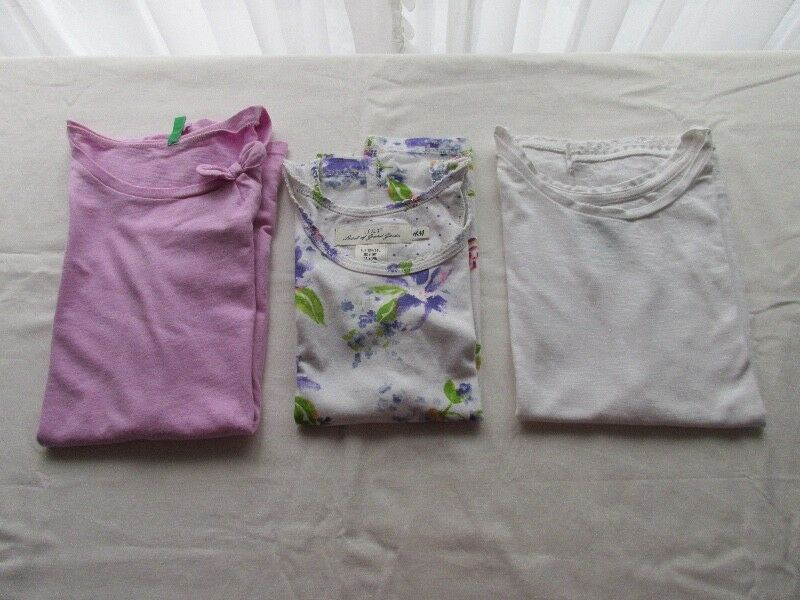 Tres remeras para nena, marcas europeas!!!, tres posturas!!,